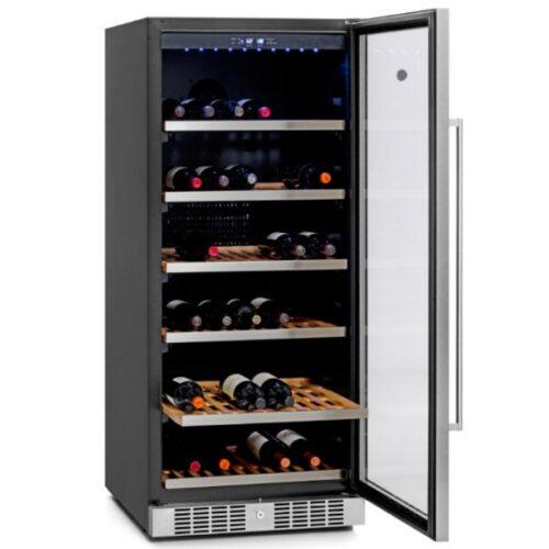 Cava Winefroz para 111 botellas de vino MN100S abierta